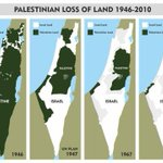 "RT @Zwelinzima1: ""@NeilColemanSA: The incredible vanishing Palestine land trick- see the picture over the last 70 years. http://t.co/xFg3yyA421"""