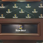 """@SunBelt: Good morning from #SunBeltMediaDay! http://t.co/EAoZyfxWBB"" GASouthernU, the SunBelt Conference Welcomes You! ????????"