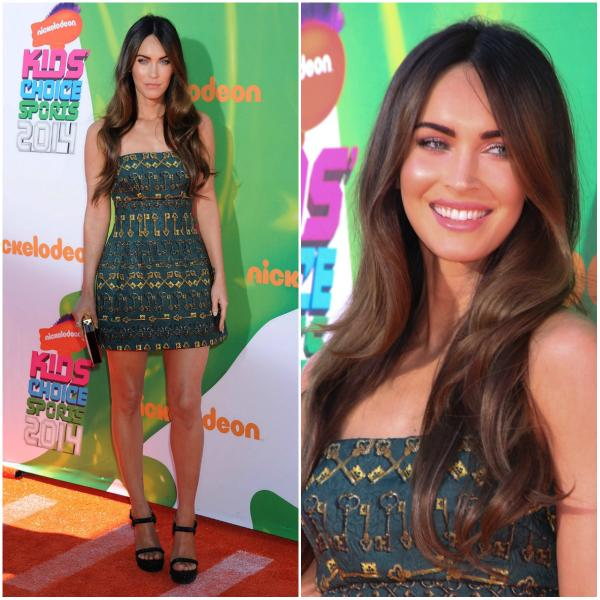 .@meganfox looked stunning at a recent event! We say, on a scale of 1 to gorgeous, this look is simply gorgeous!