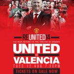 Watch #mufc return to Old Trafford v Valencia. Visit http://t.co/Ud1QS24qy0 or call 01618688000 for tickets. #REUTD14 http://t.co/guiiCZUWtM