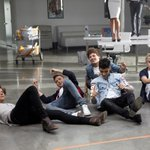 #1YearOfBSE ... the guys were totally floored by the news! http://t.co/Je1Ly3vVkA