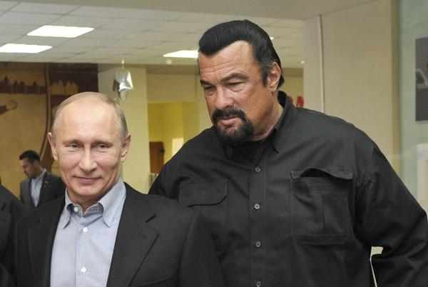 Steven Seagal gets canned from music festival over his support of Putin in Crimea