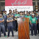 RT @TheRealPCB: Pakistan Cricket Team visited Army Relief Camp at Fortress Stadium to show solidarity with IDPs #PCB http://t.co/0OzBkTJmKn