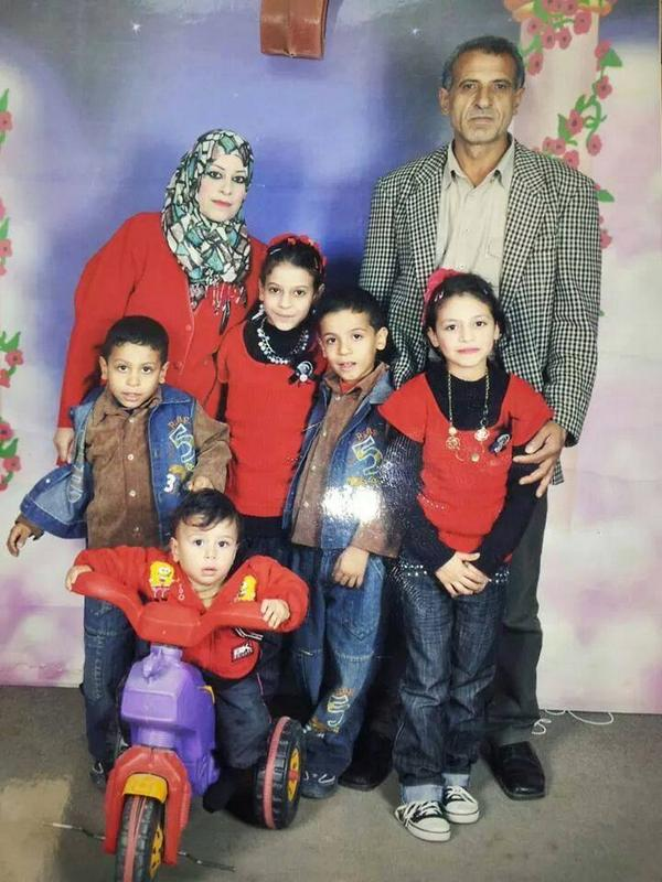 Eng. Ibraheem Al-Kelani family ran away from death to death. All of those in the photo killed by #Israel. #AJAGAZA