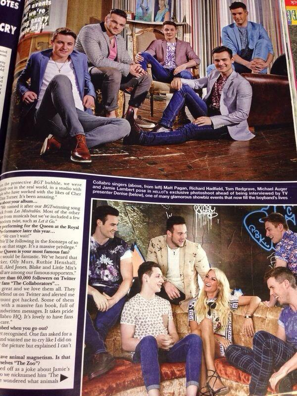 Pick up this weeks @hellomag to read @denise_vanouten interview with @CollabroGlobal! Out Now! http://t.co/8514eFqpIB
