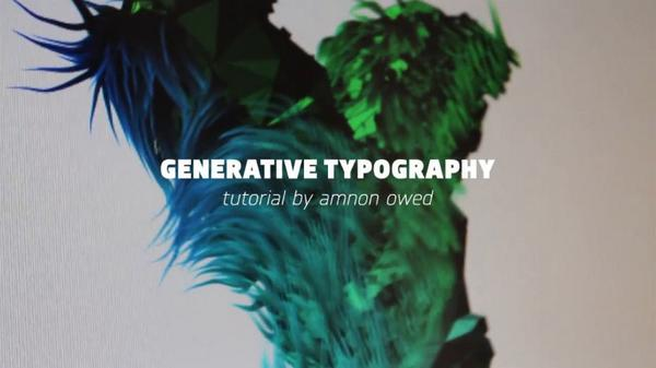 Generative Typography with #Processing - Tutorial by @AmnonOwed http://t.co/mmmC2KDMh5 | http://t.co/jWRSTRcwv7