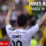 "James Rodríguez ""made in Colombia"". http://t.co/NfA1kRaf75 http://t.co/HmLGOgfPTf"