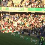 RT @FBAwayDays: Celtic fans showing their support for Palestine tonight. #cfc http://t.co/hzNDPcV8GZ