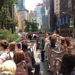 Students spotted @cnn on their tour of #NYC atop a double decker bus. #CUNYJsummer #MakeNews http://t.co/2qz1FV0wJt