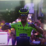 RT @albertocontador: Yessss!Great victory of @mickrogers.Congrats!This is my team! @tinkoff_saxo #TDF2014 http://t.co/nMq471MLfG