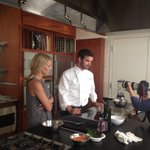 Filming gazpacho making with @CatalystCam Chef @williamkovel and @BostonDotCom and @jennyj33 http://t.co/Su9CNimgS1