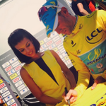 RT pour gagner le @MaillotjauneLCL / RT to win the yellow jersey signed by @vincenzonibali @lecoqsportif http://t.co/5Ndb9cU3Kz