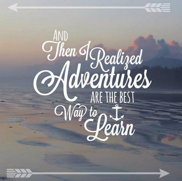 Travel makes great minds greater. #backpacking #ttot http://t.co/dBspWawzAz
