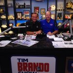 RT @LATechSHoltz: Had a great time with @TimBrando in studio today. Now off to Dallas for @Conference_USA Media Days! #WeAreLATech http://t.co/VlhuknLVUk