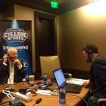 Legendary @KState_Football head coach Bill Snyder sits down w/ @TaylorZRadio at #Big12FB media days. http://t.co/oyD2sjKfeQ