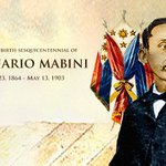 RT @govph: #todayinhistory • 150 years ago, on July 23, 1864, Apolinario Mabini was born: http://t.co/xaOd9UcLPj #Mabini150 http://t.co/QSxygX5ysD