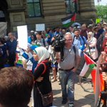 RT @glorgal: Free Gaza protest outside Harpers Langevin office in Ottawa today #cdnpoli http://t.co/Wt9hkebkua
