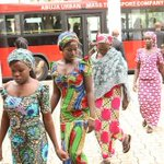 President Goodluck Jonathan Keeps Promise And Meets With 51 Escaped Chibok Girls READ MORE… http://t.co/RMoVpPNALb http://t.co/6Z7JF7yF4E