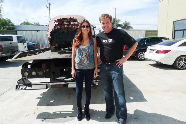 Arianny Celeste @ariannyceleste: RT @Velocity: Can't wait to show you what's on next week's new #Overhaulin, part of our #DreamCar Week. @AriannyCeleste @chipfoose http://t…
