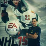 Proud to be on the Swiss cover of NHL 15.... Thanks #easports #NHL15 http://t.co/xO9ouLkKUl