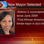 Latest: Julian Castro has officially resigned as mayor. Ivy Taylor selected as citys next mayor. #SAMayor #ksatnews http://t.co/D1vKqdfqez