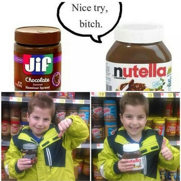 #ItalianProblems Once you've had #Nutella There is NO Substitute #ItalianNation #Italian #Nutella