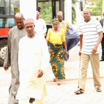 RT @abati1990: Parents of abducted Chibok girls arrive for meeting with President Jonathan at State House today #Evilwillnotprevail http://t.co/PYsnU0auSC