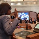 Council Member Ivy Taylor sworn in as next #SATX Mayor. http://t.co/GaPnUf41LM