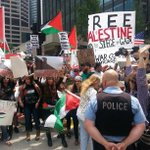 RT @plussone: Israeli Consulate #Chicago: Supporters of #FreePalestine rally against demo for Israel via @BaburRealer #Gaza http://t.co/nUDHSMVKEK