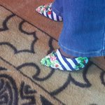 RT @WillisRaburu: #SneakyShoeSelfies the ones ill sell on @OLXKenya lol they belong to @TerryanneChebet #OLXSOMA2014 http://t.co/yEIGoR9dRg