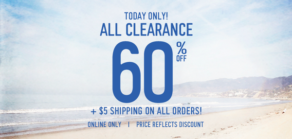 So epic, only the Interwebs can handle it... Get 60% off ALL Clearance, exclusively online at http://t.co/YOvptBdkke! http://t.co/n3A91cprDv