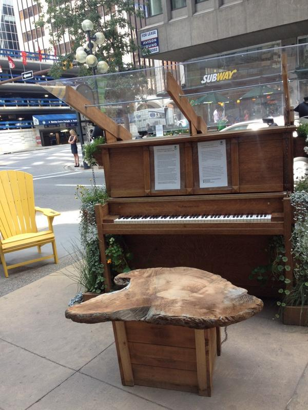 Play piano? We'd like to see you here at the corner of 3rd street & 6th avenue to play our street piano. Just stop by http://t.co/aZ0vGNiP6Y
