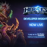 Our Heroes of the Storm Developer Insights is now live on TwitchTV. Watch it now! > http://t.co/yKScskrhLZ http://t.co/jcVBSekw5E