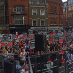 RT @kelo3adi: Huge protest in #London now in solidarity with #Gaza - the warm up act for Saturday http://t.co/MvgNF6pN5W