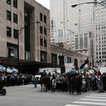RT @cbs2mai: Hundreds of #Palestinians protest pro #Israel rally in #chicago at Madison & Canal. #CPD controlling crowd. http://t.co/l60yG57Wug