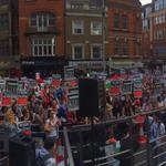 "RT @SafaaPeeroo: ""Gaza Gaza dont you cry. We will never let you die"" #LondonForGaza #FreePalestine #StopTheMassacre #PrayForGaza http://t.co/xWXt5KLODF"