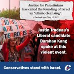RT @CPC_HQ: #Liberal candidate @darshankang spoke at a violent anti-#Israel rally organized by Justice for Palestinians. #cdnpoli http://t.co/tjX5Ts1dMu