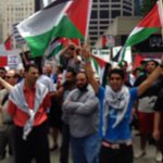 RT @NeilSteinberg: Palestinians organized a rally to face off with pro-Israel demonstrators in Chicago Tuesday. http://t.co/Wq3YsiUE9k