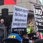 RT @GrzShan: Jews at the pro-palestine protest in London today #FreePalestine http://t.co/vxTx8agkEr