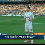 ¡ES REAL! James Rodríguez el nuevo 10 del conjunto 'Merengue'. EN VIVO | http://t.co/TWH94P5uBi http://t.co/Q0Kw8FjAkl