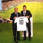 James Rodríguez will wear the number 10 shirt at Real Madrid. (Source: @realmadriden) http://t.co/V4tefWeH7F