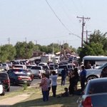 VIEWER PHOTO: Mass mobilization of law enforcement following shootout in La Joya. #RGV http://t.co/BNWtJfsSNd