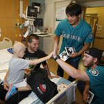 #Mariners Care stopped by @Mary_Bridge Childrens Hospital earlier this month. VIDEO: http://t.co/J3hk2390M0 http://t.co/BR3zXHLTcN
