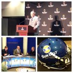 RT @ATTCottonBowl: Great day at #SunBeltMediaDay We are excited for some @SunBelt Football this season! http://t.co/OC2P8lrEjk