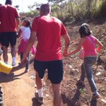 RT @bbcdevonsport: #ECFC: Exeter City players walk hand in hand with deprived children on Day 5 of their Brazilian tour. http://t.co/1u4sImCTpI