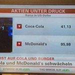 RT @Baskentcii: İsrail Gazzede, Coca-Cola ve Mc Donalds heryerde çöküyor! RT http://t.co/hjBcPASspj