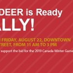 Well we sure think so! Get your Red on and join @CityofRedDeer in T minus 1 month! #RedDeer #Ready #WinterGames http://t.co/FvKI0nJ9iF