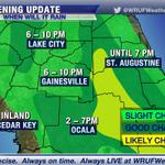 RT @WRUFWeather: Evening update: sea breeze collision still possible near or just east of #Gainesville #Ocala; some storms strong. http://t.co/y6ElOVSwGk