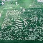 RT @KCStar: Liberty Corn Maze pays tribute to @SportingKC with new design: http://t.co/ENo7SDCBLk http://t.co/KwyIsqcaSA
