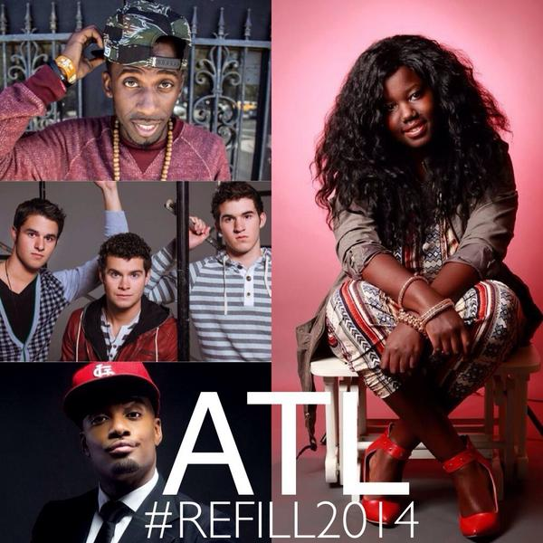 ATL!!! SEE U THIS WEEKEND! @refillministry   I'll be co-hosting #Refill2014  ft. @PWILLIE1 @OBB_Music & @bkcreationz http://t.co/CG5AUYMET3